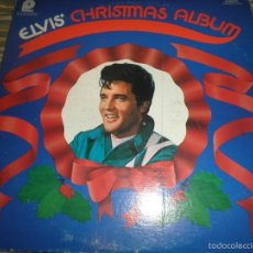 Discos de vinilo: ELVIS PRESLEY - ELVIS CHRISTMAS ALBUM LP - EDICION U.S.A. - PICKWICK 1975 MONOAURAL - MUY NUEVO(5). Lote 56035671