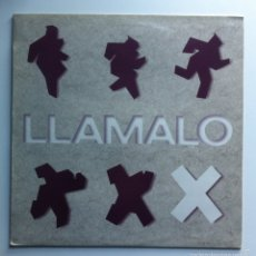 Discos de vinilo: LLAMALO X - MALA MEMORIA. 1988 HISPAVOX. Lote 56035802