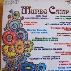 Vinyl-Schallplatten - lp - mundo camp - varios (spain, rca 1972) - 56035806