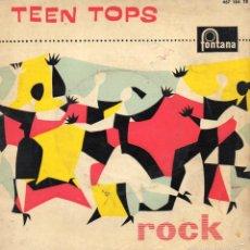 Discos de vinilo: TEEN TOPS, EP, REY CRIOLLO + 3, AÑO 1961. Lote 56041329