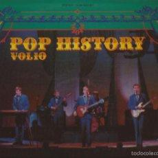 Discos de vinilo: LP-THE SPOTNICKS POP HISTORY VOL.10 POLYDOR 24 88 022/023 SPAIN 1971 LP DOBLE. Lote 56044235