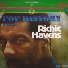 Discos de vinilo: LP-RICHIE HAVENS POP HISTORY VOL.11 POLYDOR 23 35 039/040 SPAIN 1971 LP DOBLE. Lote 56044616
