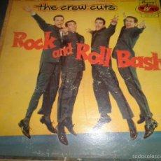 Discos de vinilo: THE CREW CUTS - ROCK N ROLL BASH LP - ORIGINAL U.S.A. - WING / MERCURY RECORDS 1956 - MONOAURAL -. Lote 56046490