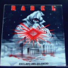 Discos de vinilo: BABEL ESCLAVO DEL SILENCIO LP. Lote 56047362
