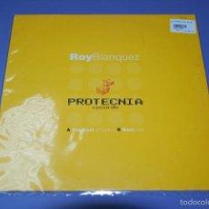 Discos de vinilo: ROY BLANQUEZ - THE BEST OF TECHNO. Lote 56047546