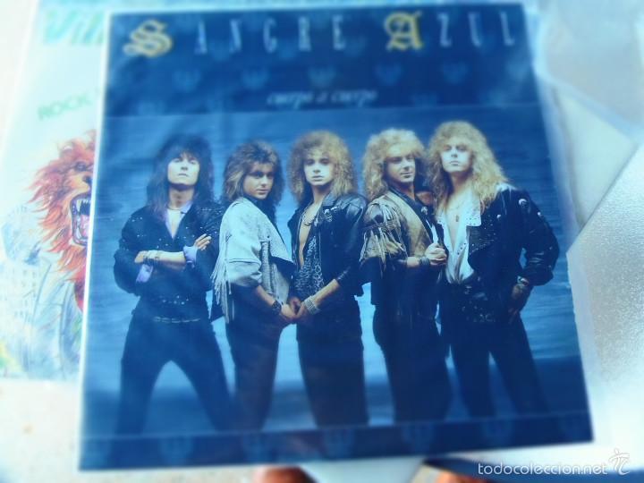 SANGRE AZUL CUERPO A CUERPO LP (Música - Discos - LP Vinilo - Heavy - Metal)