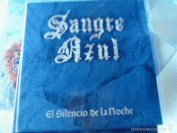 SANGRE AZUL EL SILENCIO DE LA NOCHE LP (Música - Discos - LP Vinilo - Heavy - Metal)