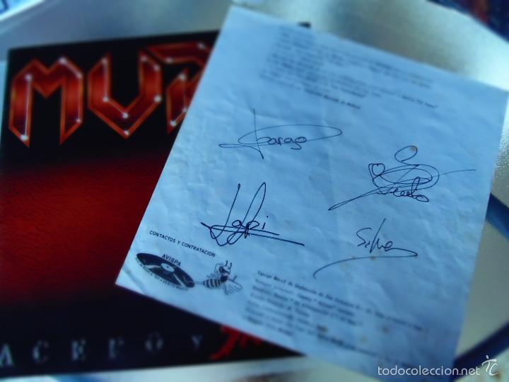 MURO ACERO Y SANGRE LP FIRMADO POR LA FORMACION ORIGINAL. (Música - Discos - LP Vinilo - Heavy - Metal)