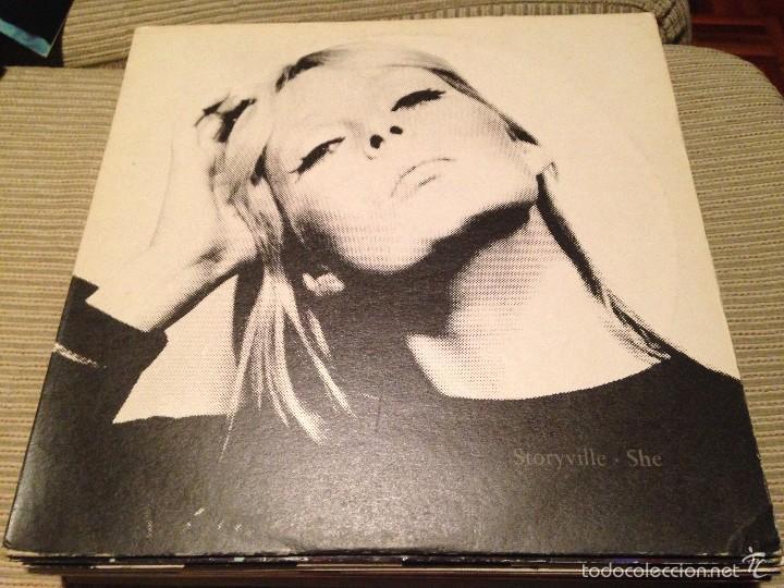 STORYVILE - SHE - MAXI UK NURSERY 1991 - INDIE POP (Música - Discos de Vinilo - Maxi Singles - Pop - Rock Extranjero de los 90 a la actualidad)