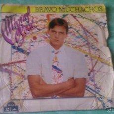 Discos de vinil: MIGUEL BOSÉ/ BRAVO MUCHACHOS/ SON AMIGOS, CBS , DEL 1982. Lote 56050377