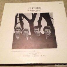 Discos de vinilo: U2 - PRIDE IN THE NAME OF LOVE - MAXI PORTUGAL ISLAND 1984 - . Lote 56051553