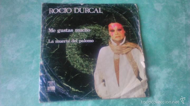 VINILO DE 7' DE ROCIO DURCAL 'ME GUSTAS MUCHO' ARIOLA 1978 (Música - Discos - Singles Vinilo - Solistas Españoles de los 70 a la actualidad)