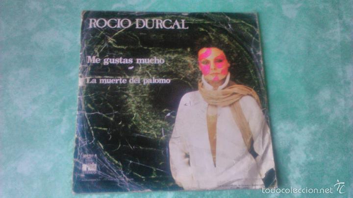 Discos de vinilo: VINILO DE 7' DE ROCIO DURCAL 'ME GUSTAS MUCHO' ariola 1978 - Foto 2 - 56052903