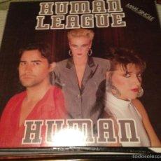 Discos de vinil: HUMAN LEAGUE - HUMAN - MAXI SPAIN VIRGIN 1986 - SYNTH POP. Lote 56053432