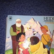 Discos de vinilo: HEIDI. Lote 56055857
