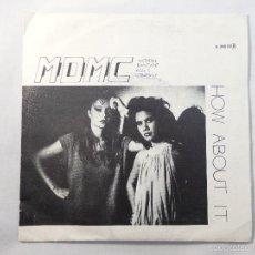 Discos de vinilo: SINGLE MDMC MODERN DANCABLE MUSIC COMPANY. HOW ABOUT IT. Lote 56056544