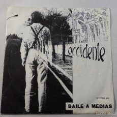 Discos de vinilo: SINGLE OCCIDENTE. BAILE A MEDIAS. Lote 56058663