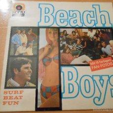Discos de vinilo: THE BEACH BOYS, LP, FUN, FUN, FUN + 13, AÑO 19?? MADE IN GERMANY. Lote 56065845