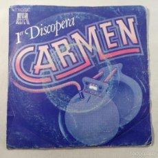 Discos de vinilo: SINGLE 1º DISCOPERA CARMEN. OUVEERTURE / FICKLE OF LOVE.. Lote 56071903