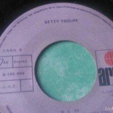 Discos de vinilo: BETTY TROUPE-EL VINILO.FABRICADO EN ESPAÑA POR IBEROFON. Lote 56074524