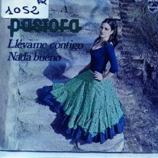 Discos de vinilo: PASTORA / LLEVAME CONTIGO / NADA BUENO (SINGLE 1973). Lote 103915232