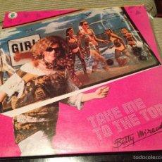 Discos de vinilo: BETTY MIRANDA - TAKE IT TO THE TOP - MAXI MAX 1985 ITALO DISCO. Lote 56083130