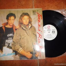 Discos de vinilo: UMBERTO TOZZI & RAF GENTE DI MARE MAXI SINGLE VINILO PROMO ESPAÑA EUROVISION 1987 4 TEMAS. Lote 212661773