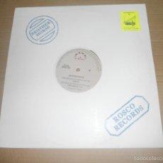 Discos de vinilo: BROTHER MORSE (MX) LOS AÑOS QUE NOS QUEDAN POR VIVIR +2 TRACKS AÑO 1992. Lote 56083595