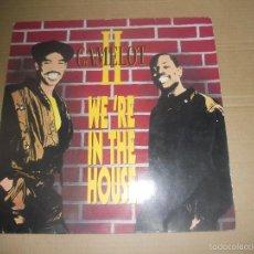 Discos de vinilo: CAMELOT II (MX) WE'RE IN THE HOUSE +3 TRACKS AÑO 1989 - EDICION ALEMANIA. Lote 56083661