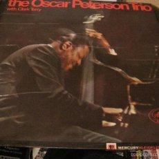 Discos de vinilo: LP-OSCAR PETERSON TRIO & CLARK TERRY MERCURY 125947 SPAIN 1965 JAZZ. Lote 56084519
