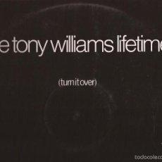 Discos de vinilo: LP-TONY WILLIAMS LIFETIME TURN IT OVER POLYDOR 24 25 019 SPAIN 1970. Lote 56085009