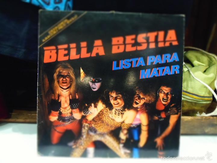 BELLA BESTIA LISTA PARA MATAR LP (Música - Discos - LP Vinilo - Heavy - Metal)