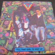 Discos de vinilo: TRANSVISION VAMP - TELL THAT GIRL TO SHUT UP + 1 - EDICION INGLESA DEL AÑO 1988.. Lote 56087493