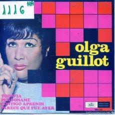 Dischi in vinile: OLGA GUILLOT / TODAVIA / PERDONAME + 2 (EP 1968). Lote 56092442
