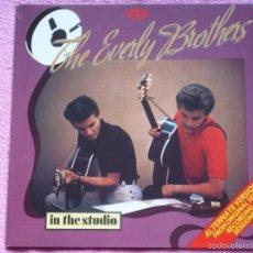 Discos de vinilo: THE EVERLY BROTHERS,IN THE STUDION REDICION DEL 85. Lote 56092482