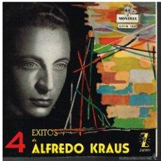Discos de vinilo: ALFREDO KRAUS - DOÑA FRANCISQUITA / EL TRUST DE LOS TENORIOS +2 - EP 1959. Lote 56094136