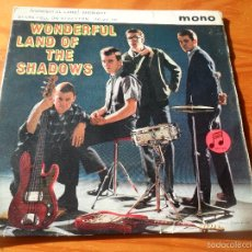 Discos de vinilo: THE SHADOWS - WONDERFUL LAND / MIDNIGHT/ STARS FELL ON STOCKTON/ 36-24-36 - EP 1962 GRAN BRETAÑA. Lote 56094343