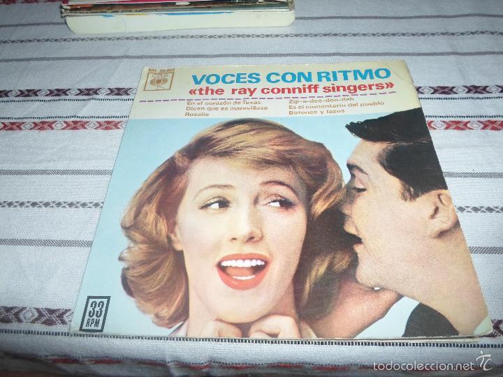 RAY CONNIFF.VOCES CON RITMO (Música - Discos de Vinilo - EPs - Pop - Rock Extranjero de los 70)