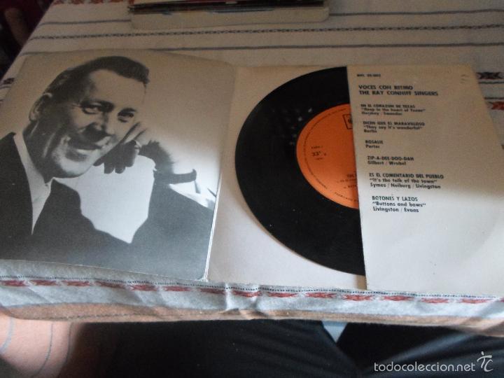 Discos de vinilo: RAY CONNIFF.VOCES CON RITMO - Foto 2 - 56099421