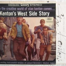 Discos de vinilo: STAN KENTON - '' KENTON'S WEST SIDE STORY '' LP ORIGINAL USA. Lote 56099500