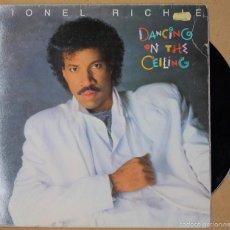 Discos de vinilo: LP LIONEL RICHIE. DANCING ON THE CEILING. MOTOWN. AÑO 1986. Lote 56102424