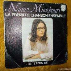 Discos de vinilo: NANA MOUSKOURI. LA PREMIERE CHANSON ENSEMBLE. PHILIPS 1976. EDICION FRANCESA. Lote 56104918
