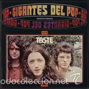 TASTE GIGANTES DEL POP LP EDICION ESPAÑOLA 1981 POLYDOR (Música - Discos - LP Vinilo - Pop - Rock - Extranjero de los 70)