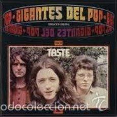 Discos de vinilo: TASTE GIGANTES DEL POP LP EDICION ESPAÑOLA 1981 POLYDOR. Lote 56106217