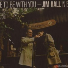 Discos de vinilo: LP-JIM HALL IN BERLIN IT´S NICE TO BE WITH YOU BASF35 53363 SPAIN 1976 GATEFOLD JAZZ. Lote 56106253