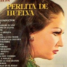 Discos de vinilo: LOS GRANDES EXITOS DE PERLITA DE HUELVA 1975 BELTER 79.005 79.006. Lote 56108358