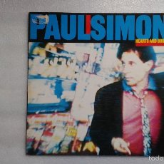 Discos de vinilo: PAUL SIMON - HEARTS AND BONES LP 1983 EDICION EUROPEA. Lote 56128743