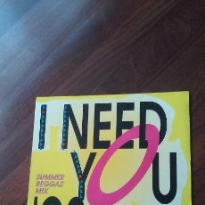 Discos de vinilo: BVSMP-I NEED YOU.SUMMER REGGAE MIX 93.MAXI. Lote 56129982