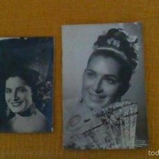 Discos de vinilo: 2 FOTOS DE JUANITA REINA. Lote 56138085
