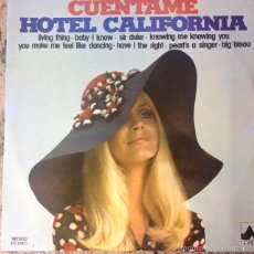 Discos de vinilo: THE STUDIO GROUP - CUENTAME , HOTEL CALIFORNIA . LP . 1977 DIAL DISCOS . ND 1200. Lote 56145586